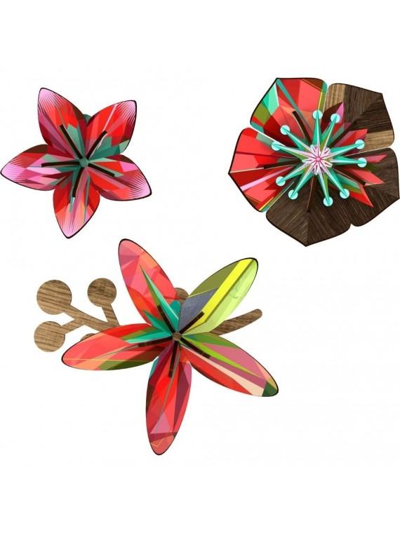 Miho fiore decorativo -tropical breeze