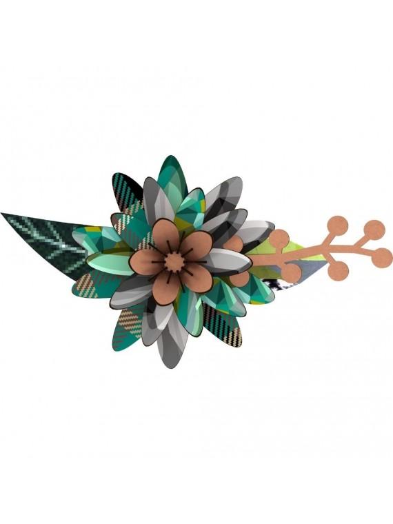 Miho fiore decorativo -rhapsody in blue