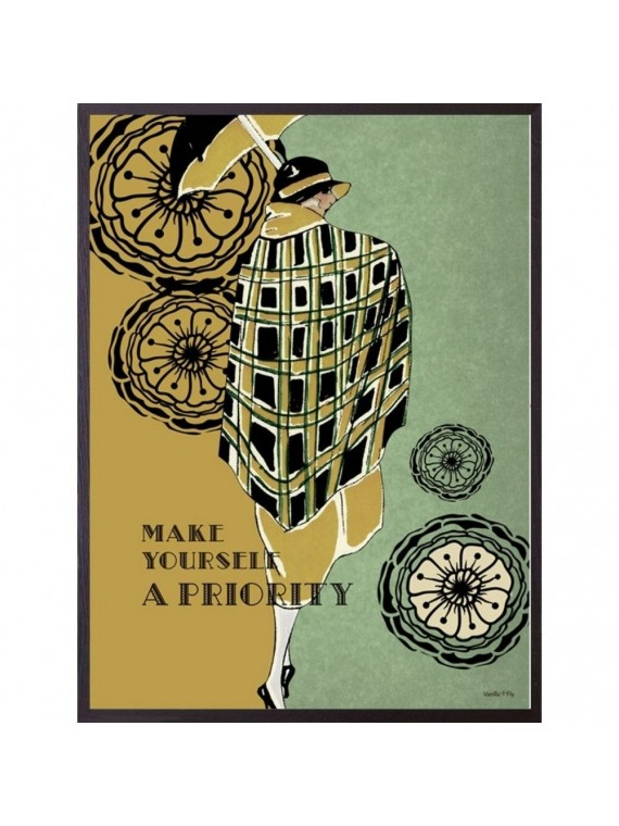 Vanilla fly poster 20 - 25 priority - cornice nera