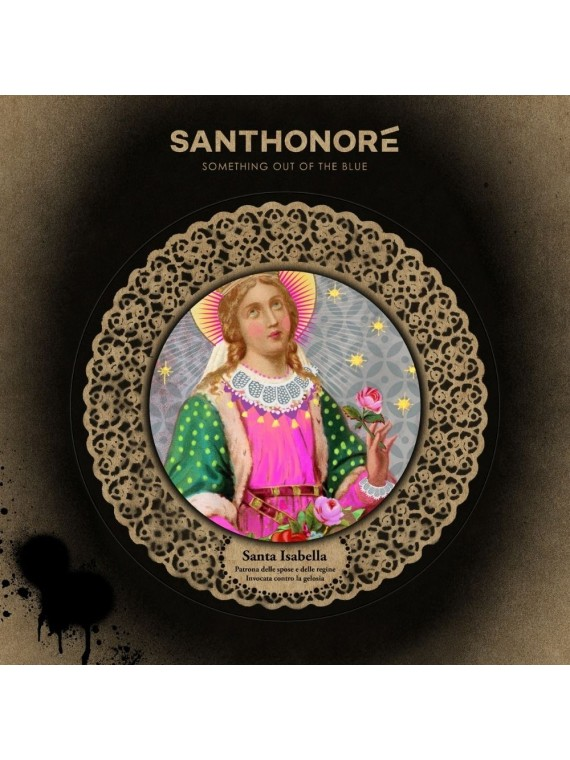 Santhonore pop icon - santa isabella