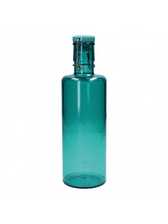 Bottiglia Turquoise 1 Lt In Acrilico In Acrilico