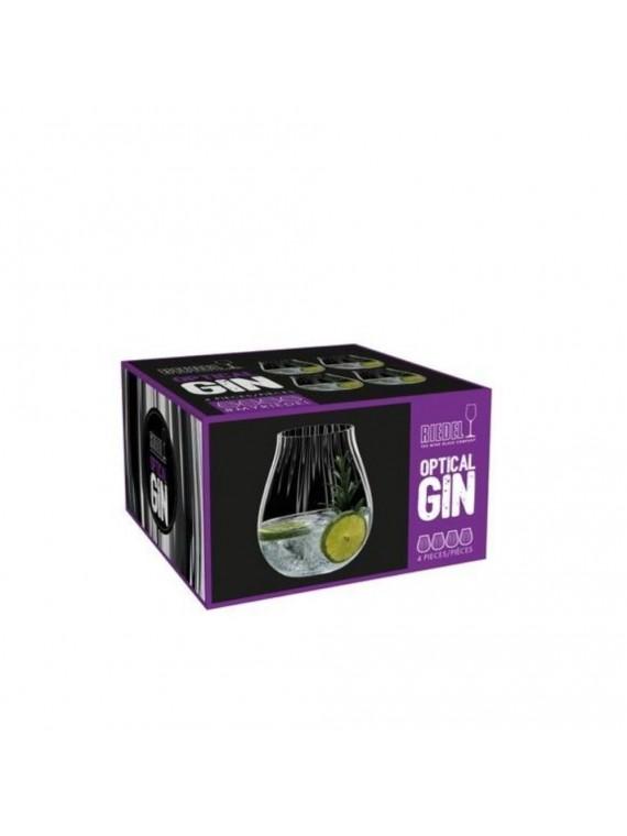 Riedel gin optical set 4pz