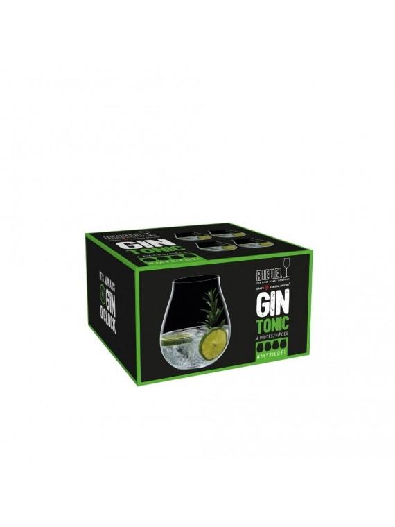 Riedel gin tonic classic set 4pz