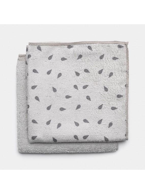 Brabantia Panni lavapiatti  set 2 pezzi - Light Grey