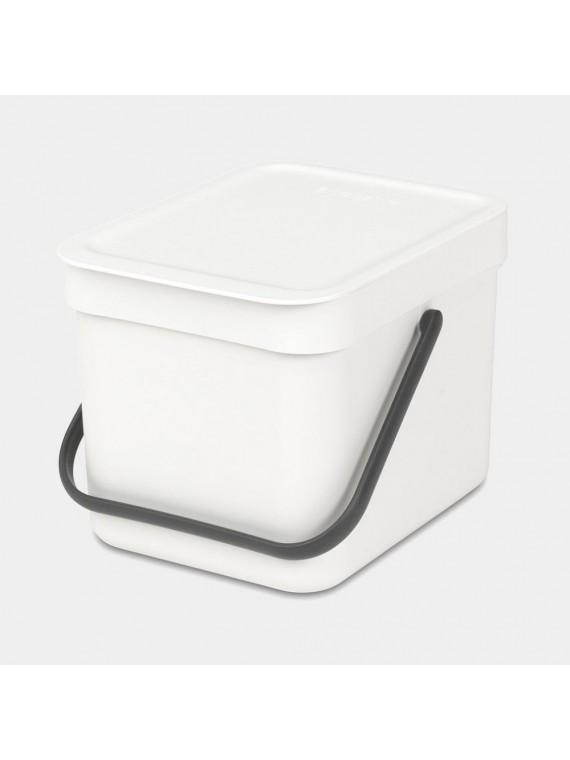 Brabantia Sort   Go  6L - White