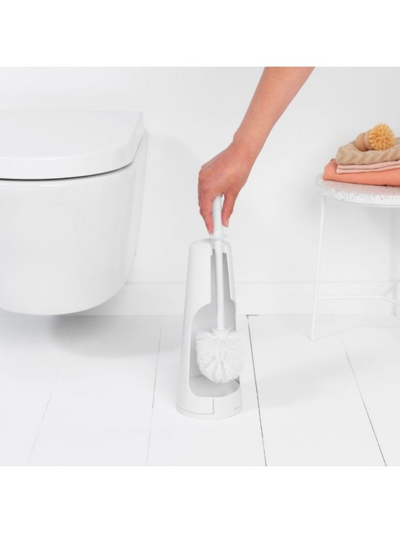 Brabantia ReNew Porta scopino da toilette - White