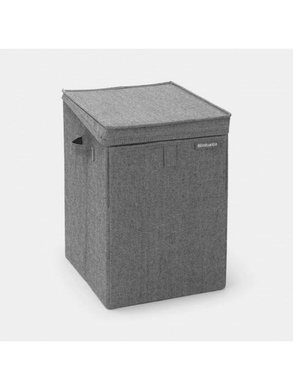 Brabantia Stackable Laundry Box  35L - Pepper Black