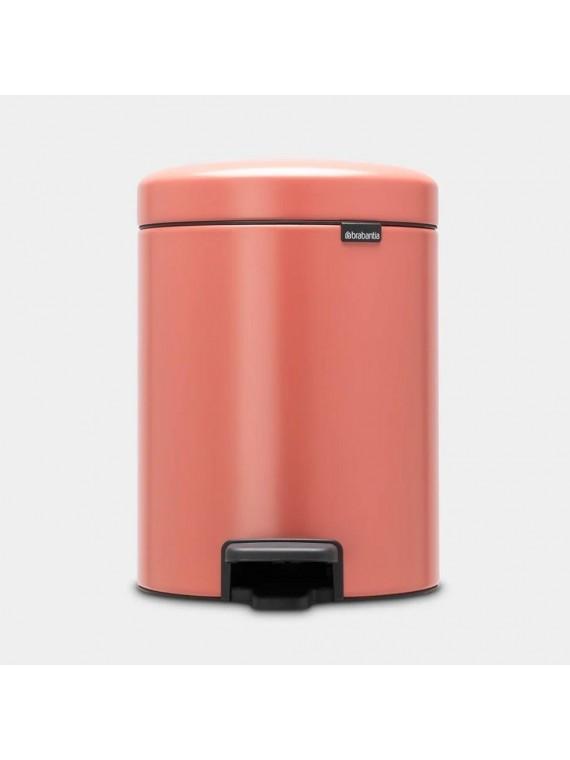 Brabantia Pattumiera a pedale newIcon  5L - Terracotta Pink
