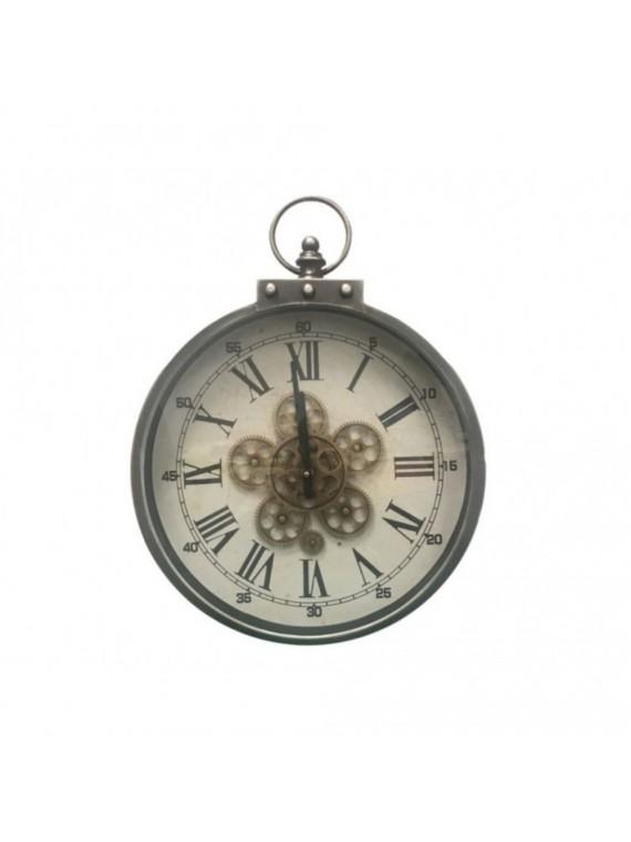 Brandani orologio hora meccanismo a vista metal