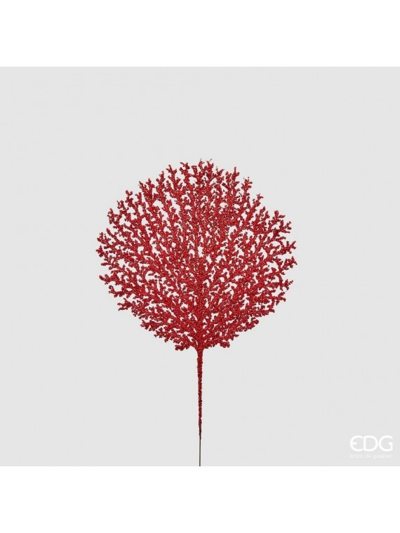 Edg corallo bell ramo glitt h48