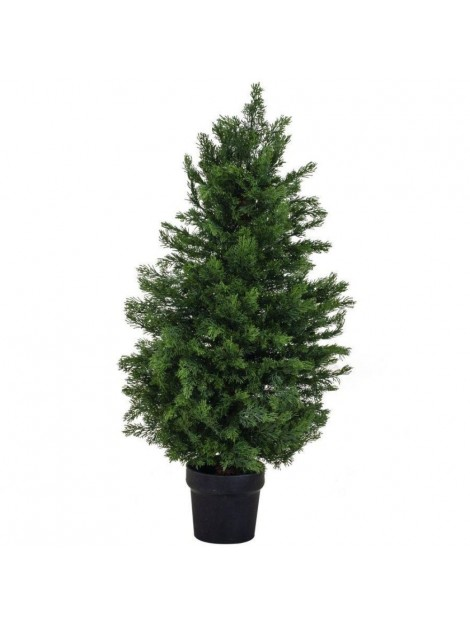 Albero bisalta verde cm d35 h60 pvc con 99 rami