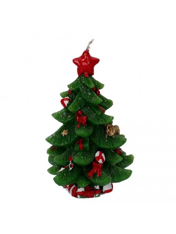 Candela albero cm10 3x10 3h17 8
