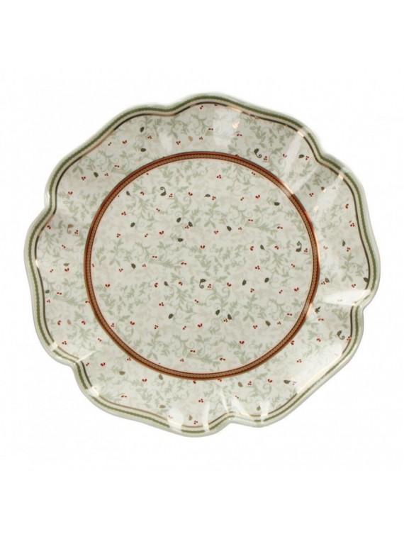 Brandani Piatto portata connubio porcellana