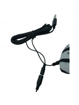 PANTOFOLE RISCALDABILI CON CAVO USB