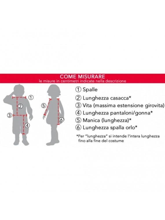 COSTUME PICCOLO PRINCIPE D'ORIENTE