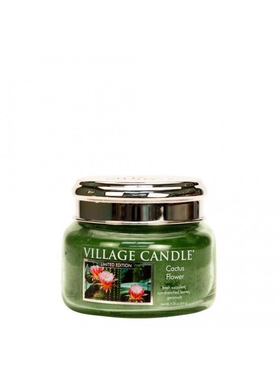 CACTUS FLOWER VILLAGE CANDLE