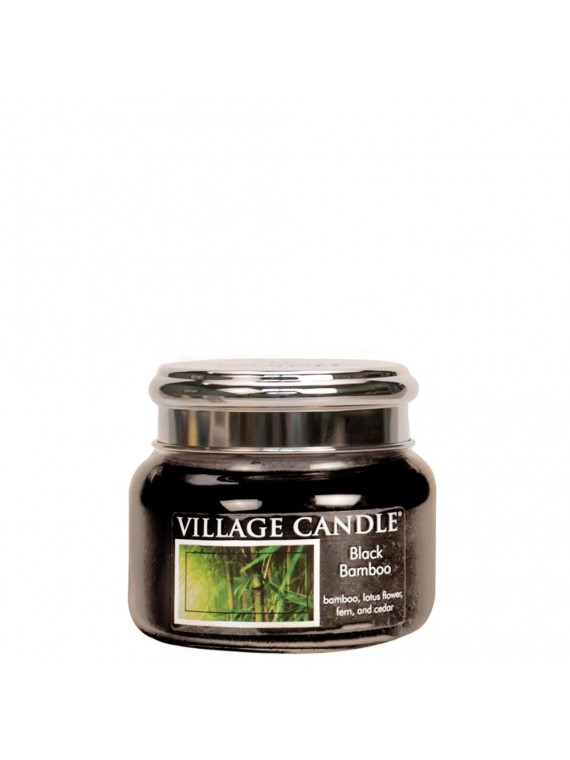 BLACK BAMBOO VILLAGE CANDLE