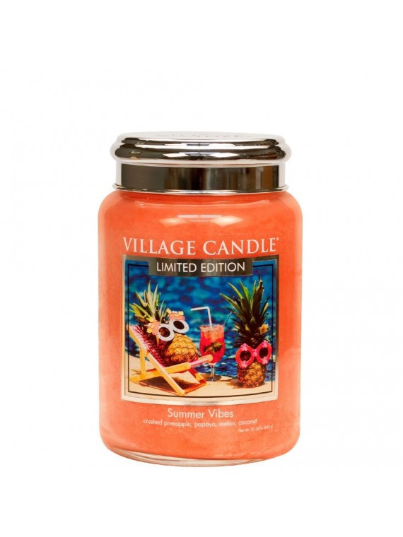 SUMMER VIBES VILLAGE CANDLE