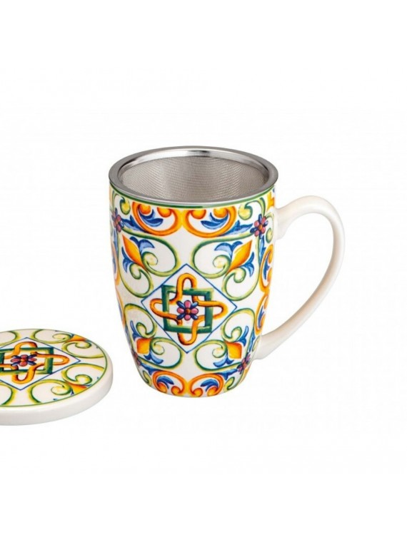 MUG MEDICEA GIGLIO NEW BONE CHINA