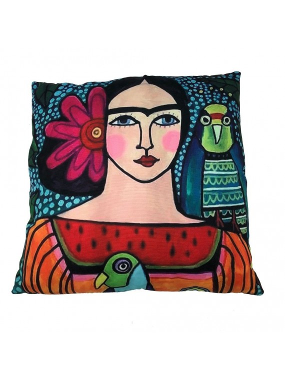 CUSCINO ART FRIDA WATERPROOF