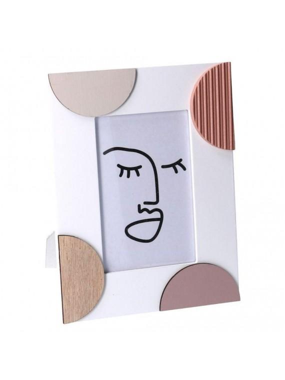 Portafoto legno rosa piccolo chakra