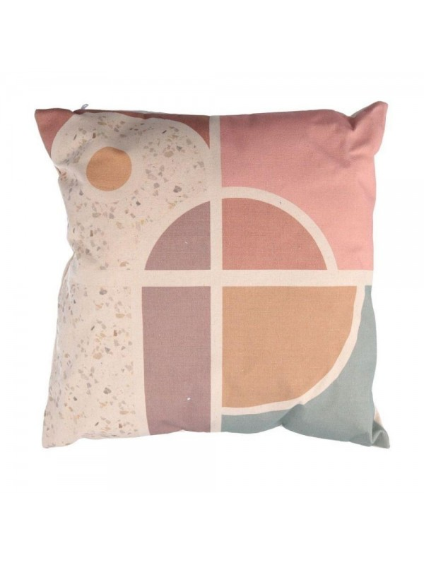 Cuscino tessuto multicolor chakra