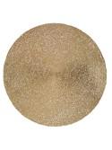 Tovaglietta plastica oro tondo cm diam. 38 h1