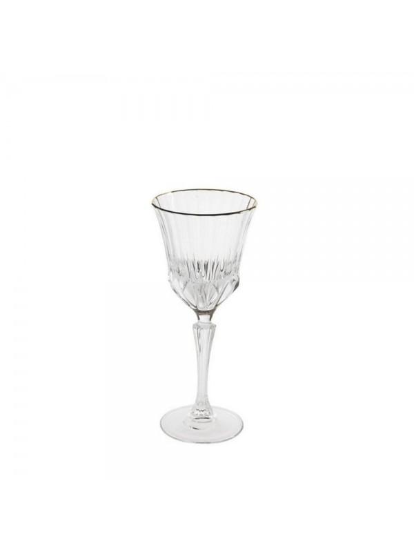 BRANDANI CALICE DESSERT OH MY GOLD CRYSTAL GLASS