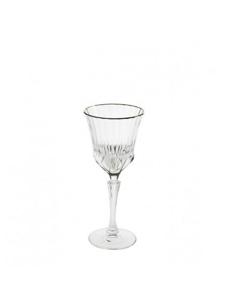 BRANDANI CALICE OH MY GOLD CRYSTAL GLASS