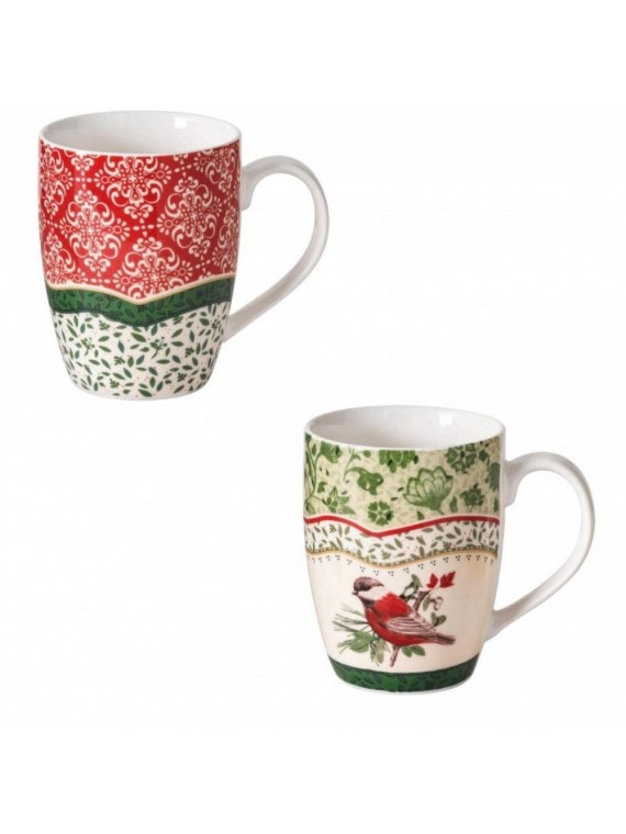 BRANDANI MUG 2 CANTICO SET 2 PZ NEW BONE