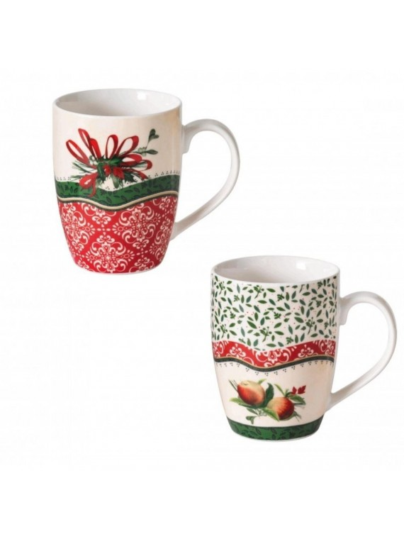 BRANDANI MUG 1 CANTICO SET 2 PZ NEW BONE