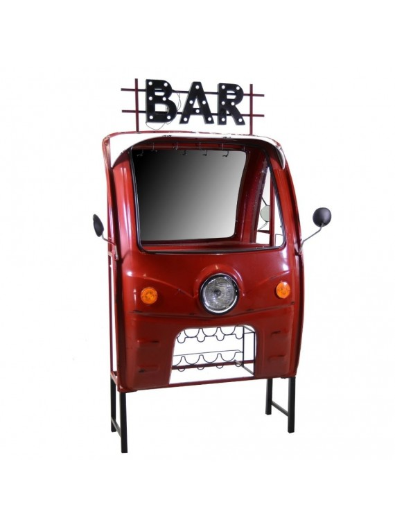 MOBILE BAR CAMIONCINO ROSSO