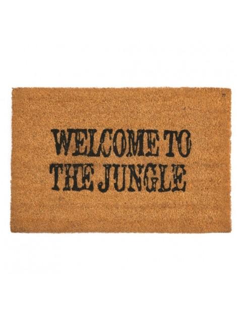 ZERBINO WELCOME TO THE JUNLGE NATURALE SCRITTA NERA
