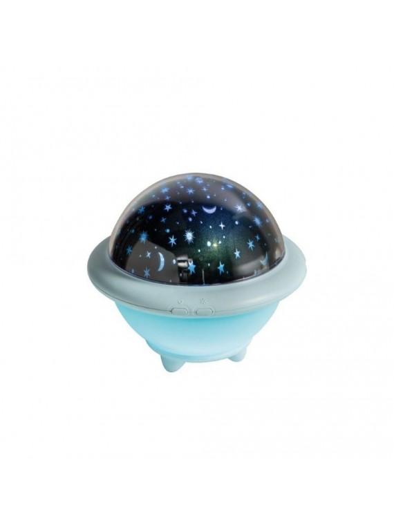 BRANDANI LAMPADA UFO AZZURRO