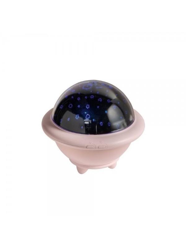 BRANDANI LAMPADA UFO ROSA ABS/SILICONE