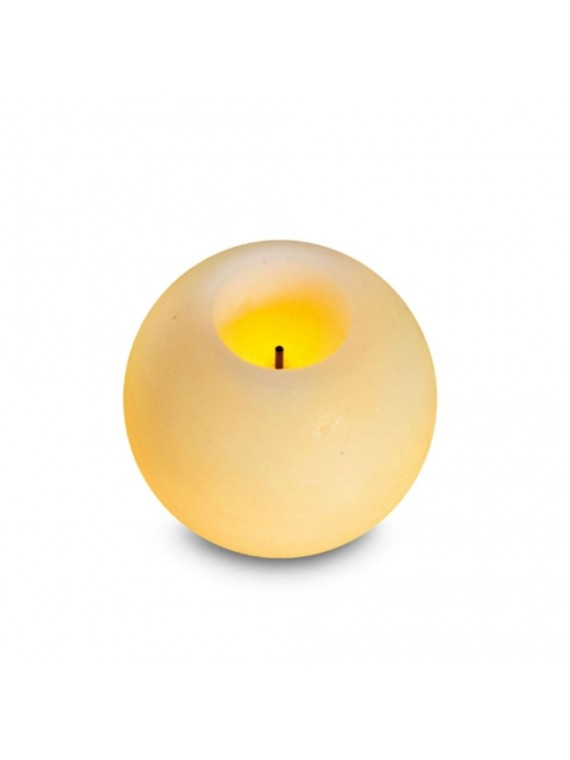 CANDELA IN CERA LED SFERA PICCOLA