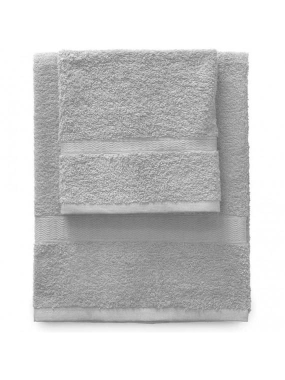 Gabel set 1 asciugamano viso 1 ospite grigio