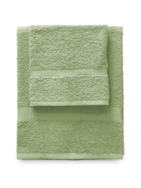 Gabel set 1 asciugamano viso 1 ospite aloe