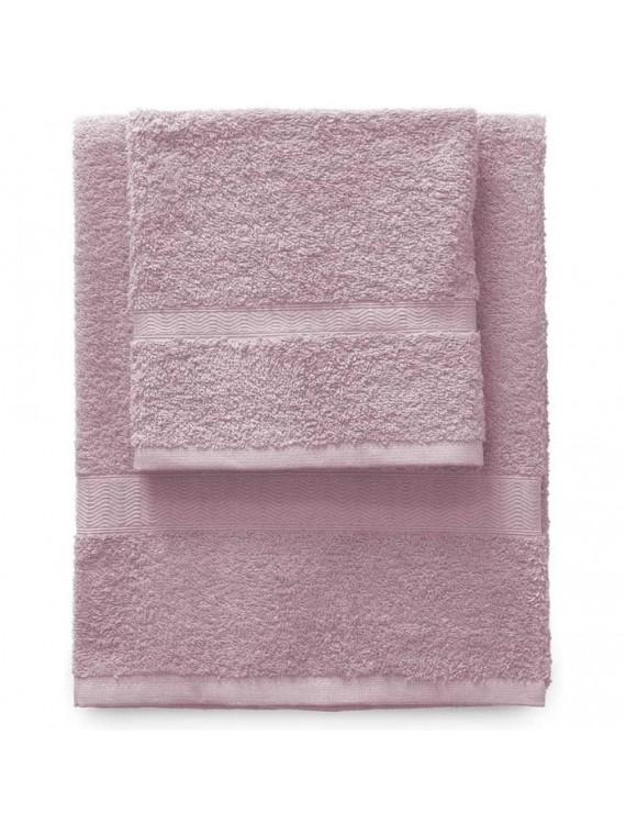 Gabel set 1 asciugamano viso 1 ospite ciclamino