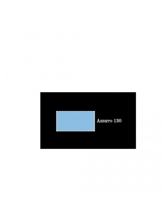 Cavalieri Lara set 2 federe con 3 volani azzurro