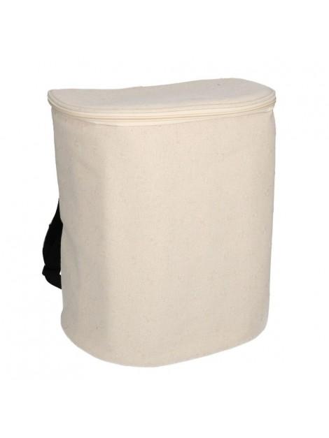 Borsa frigo zaino crema cm31x21h35