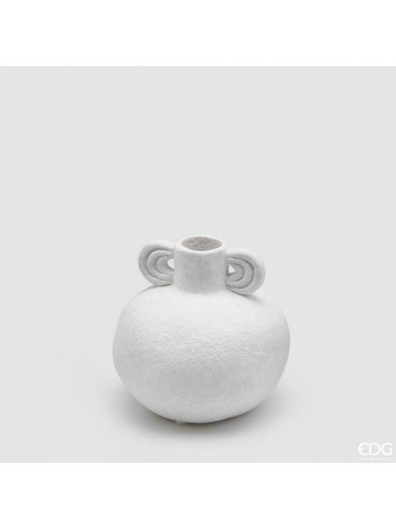 Edg vaso con manici sfera h11 d11