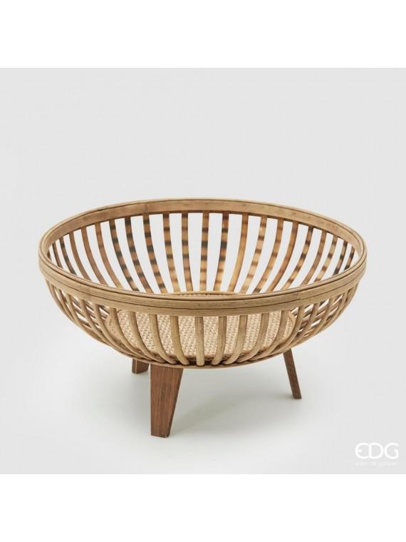 Edg cesto bamboo tripode h21 d41