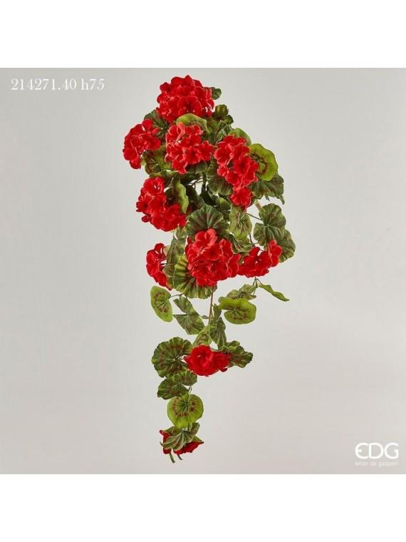 Edg geranio prix cadente rosso h75