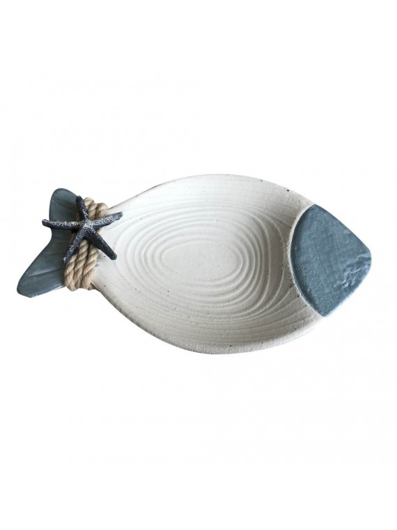 Svuotatasche resina azzurro cm24x15h3 5