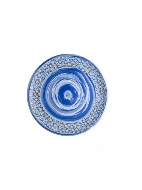 Brandani piatto portata caos porcellana