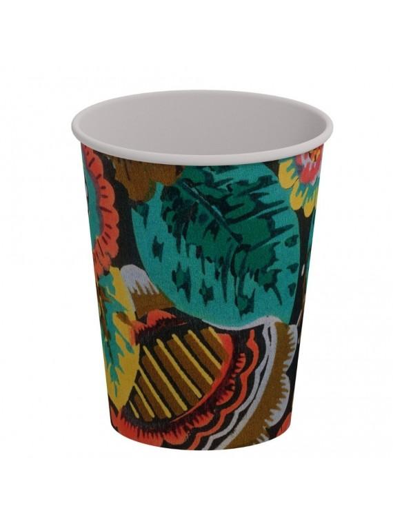 Miho 8 bicchieri in carta monouso 300 ml - 10 oz - kensing