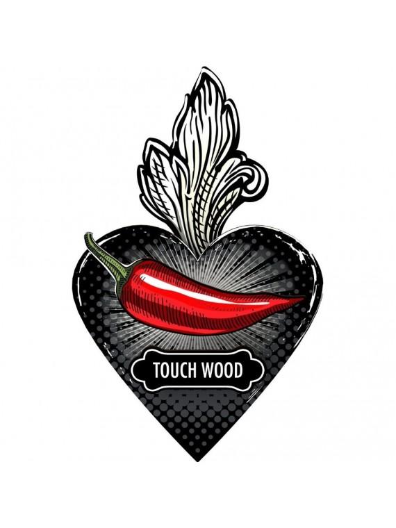 Miho cuore ex voto touch wood - tanta fortuna