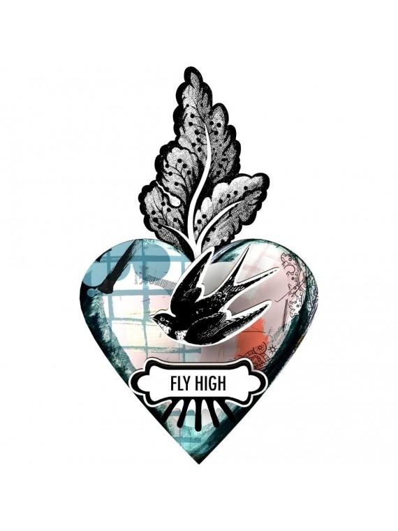 Miho cuore ex voto fly high - vola alto