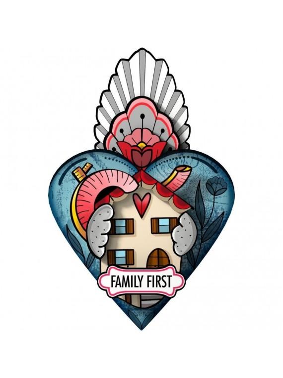 Miho cuore ex voto family first- famiglia